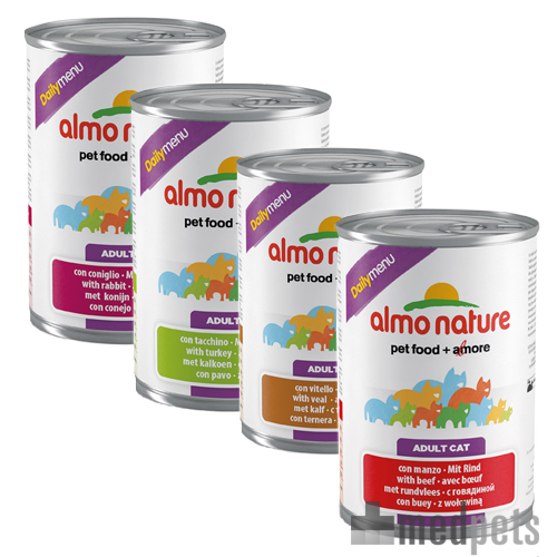 Almo Nature - Daily Menu 400g - Katzenfutter