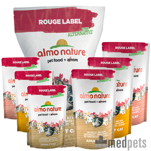 Almo - Rouge Label The Alternative - Cat food Brokken