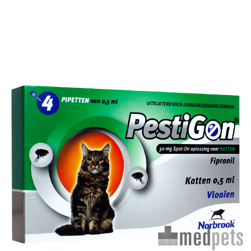 Pestigon Spot-on voor katten