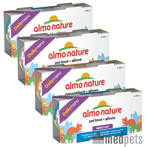 Almo Nature - Daily Menu 2x 170g - Katzenfutter