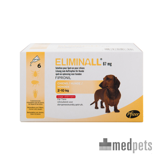 Product afbeelding van Eliminall Hond spot-on