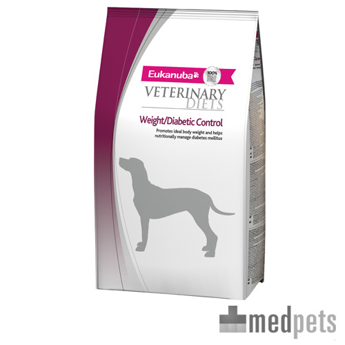 Eukanuba Weight Diabetic Control - Veterinary Diets - Hond