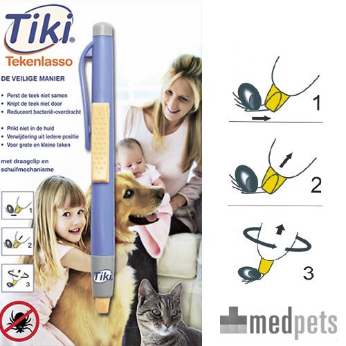 Tiki-Zeckenlasso