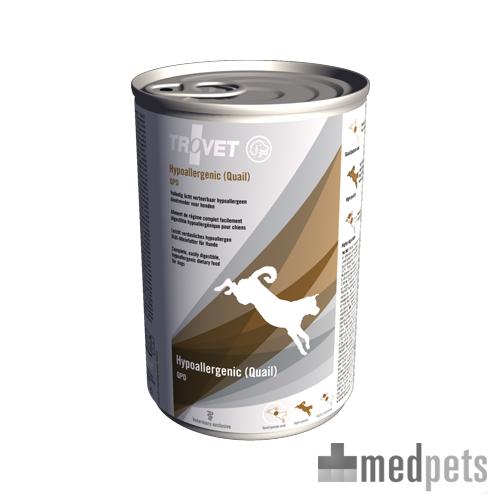 TROVET Hypoallergenic QPD (Quail) Hund