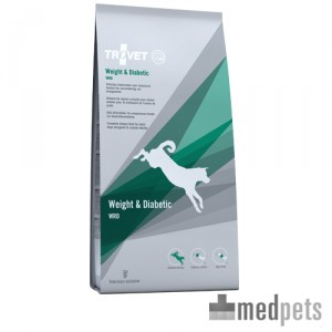 Product afbeelding van TROVET Weight & Diabetic WRD Hond