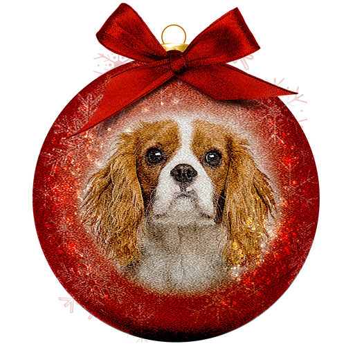 Weihnachtskugel Frosted - Cavalier