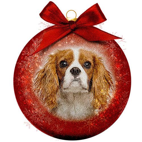 Boule de Noël Frosted - Cavalier