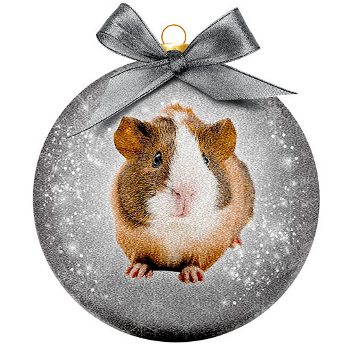 Kerstbal Frosted - Cavia