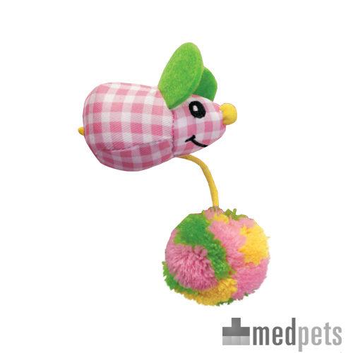 Product afbeelding van KONG Kat - Kitten Pom Tail Mouse
