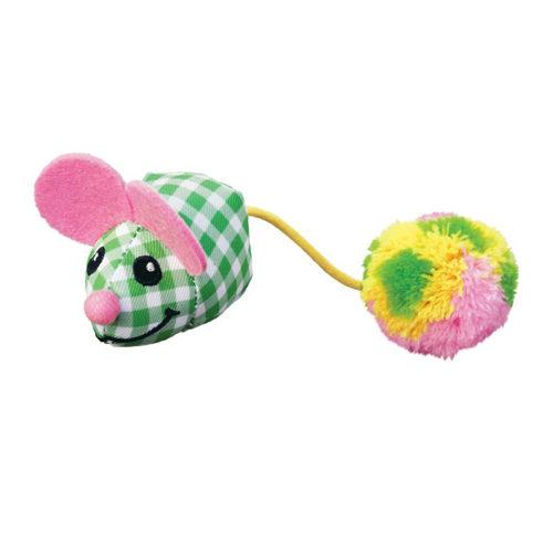 KONG Kat - Kitten Pom Tail Mouse