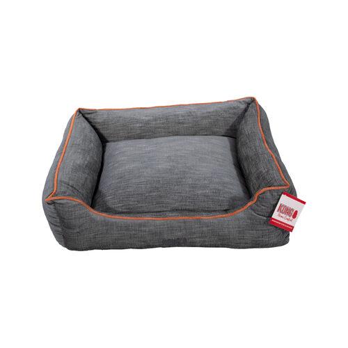 KONG Lounger Bed - Grijs / Oranje