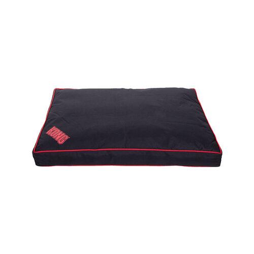 KONG Rectangle Bed - Zwart / Rood