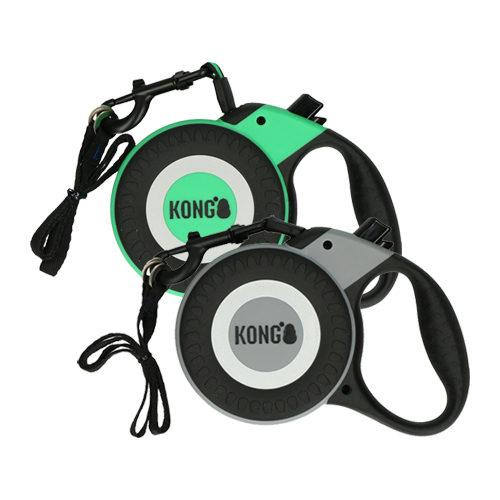 KONG Retractable Leash Reflect