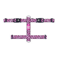 Max & Molly H-Dog Harness - Leopard Pink