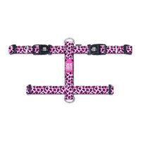 Max & Molly H-Hondenharnas - Leopard Pink