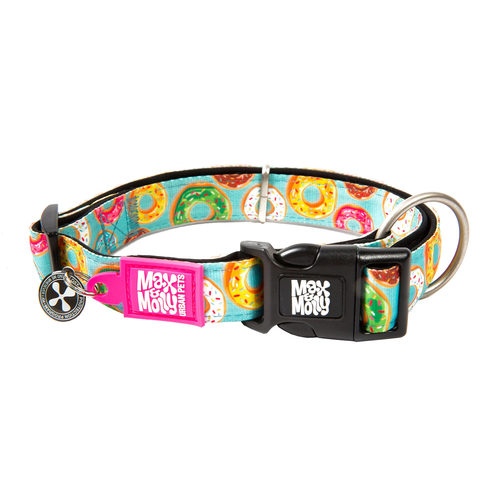 Max & Molly Smart ID Halsband - Donuts