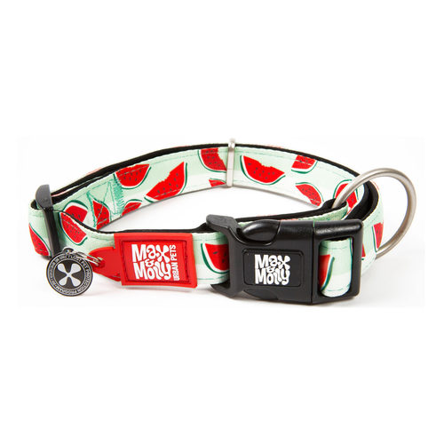 Max & Molly Smart ID Halsband - Watermelon