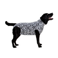 Medical Pet Shirt Hund Zebra-Muster