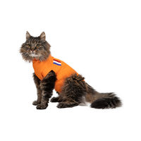 Medical Pet Shirt Orange - Gilet de Protection pour Chat