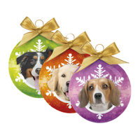 Merry Pets Christmas Bauble Dog