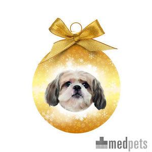 Product afbeelding van Merry Pets Kerstbal Hond