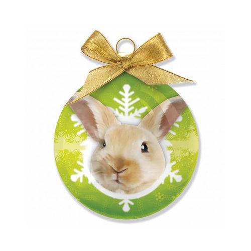 Merry Pets Christbaumkugel Kaninchen