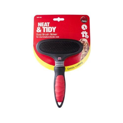 Mikki Dual Brush Slicker