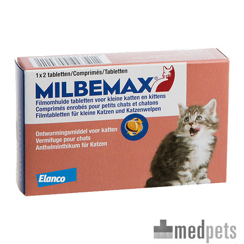 Product afbeelding van Milbemax kat