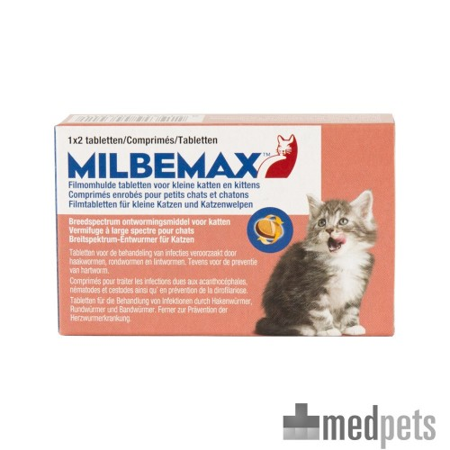 Image du produit Milbemax Vermifuge pour Chat