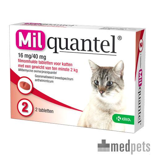 Product afbeelding van Milquantel Kat