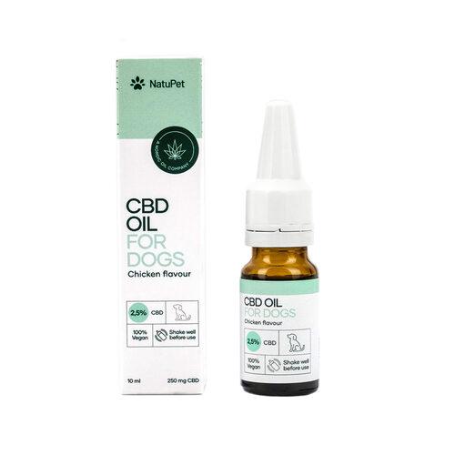 NatuPet CBD Oil for Dogs 2,5% Chicken