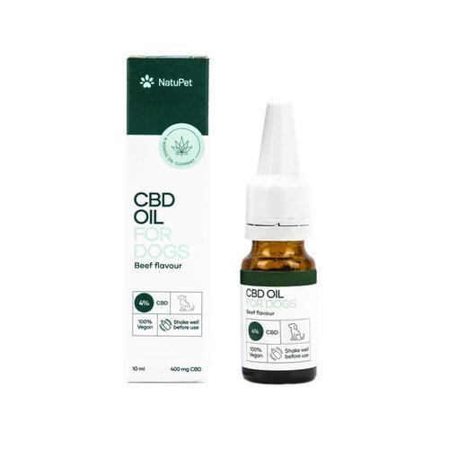 NatuPet CBD Oil for Dogs 4% Beef