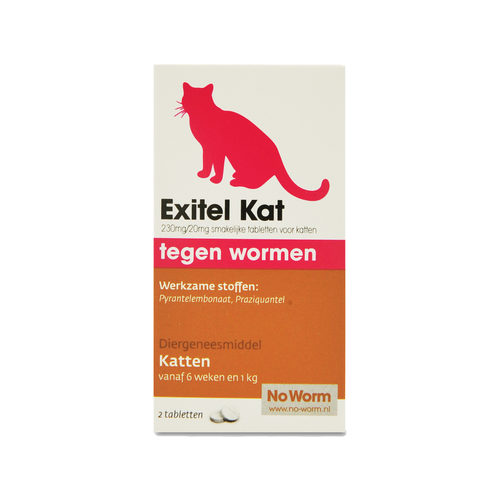 No Worm Exitel Katze