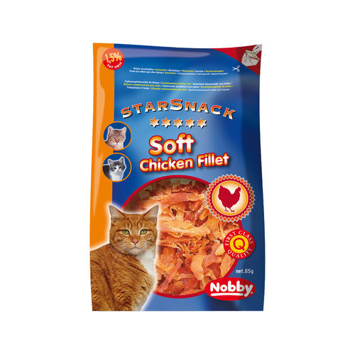 Nobby - Cat Starsnack Soft Chicken Filet
