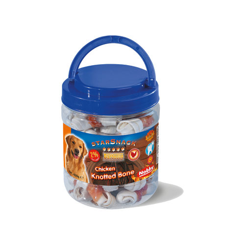 Nobby - Starsnack Barbecue Chicken Knotted Bone Jar