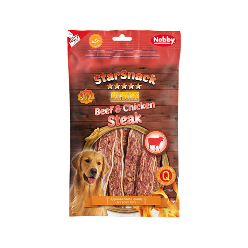 Nobby - Starsnack Barbeque Beef & Chicken Steak