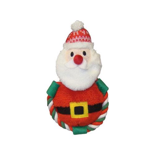 Nobby Pluche Kerstman met Touw