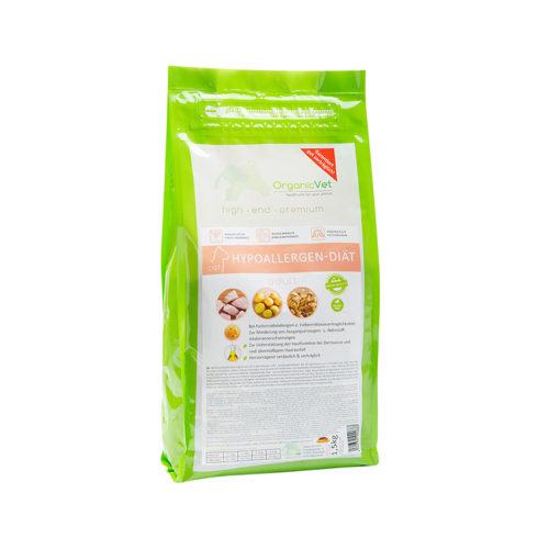 OrganicVet Cat hypoallergenes Katzenfutter