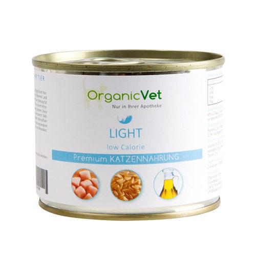OrganicVet Cat Light low Calorie - Dose