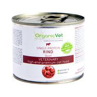 OrganicVet Cat Single Protein - Rind - Dosen
