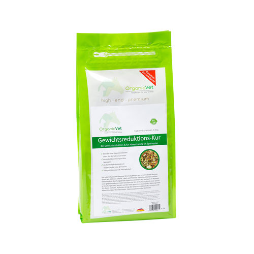 OrganicVet Dog Weight Loss Supplement