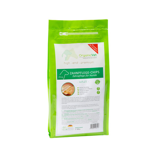 OrganicVet Dog Dental Chips