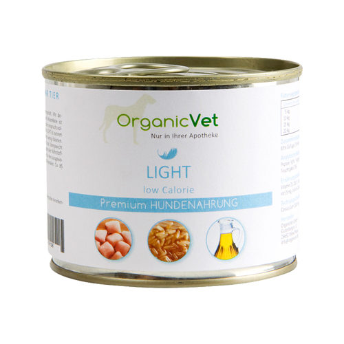 OrganicVet Dog Light - Blik
