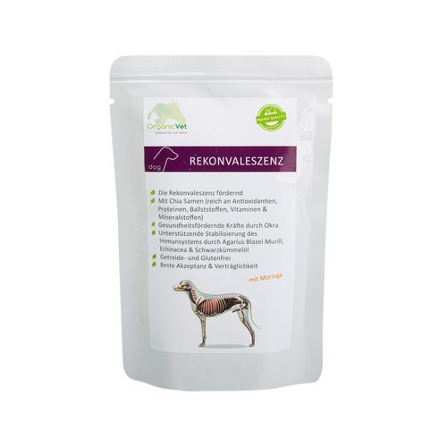 OrganicVet Dog Veterinary Diet - Herstel - Zakje