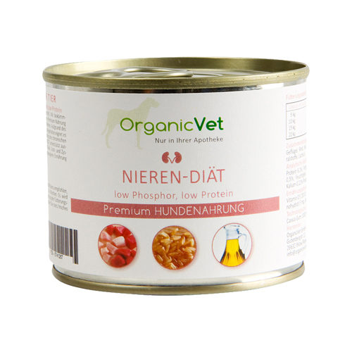 OrganicVet Dog Veterinary Nieren-Diät in der Dose