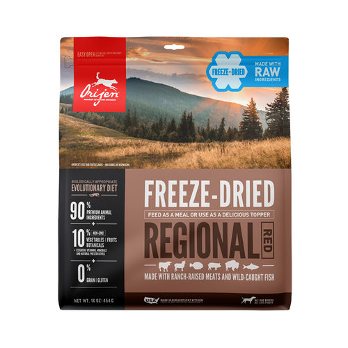 Orijen Regional Red Dog Freeze Dried