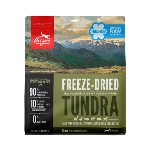 Orijen Tundra Dog Freeze Dried