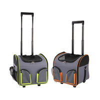 Pawi Pet Trolley Bag - Sac de transport à roulettes pour Chien et Chat