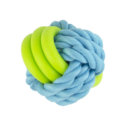 Pawise Twins Rope Ball