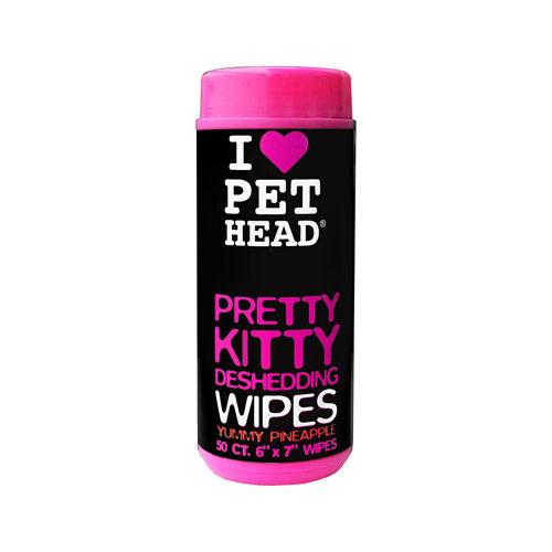 Pet Head - Pretty Kitty Deshedding Wipes